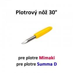 Plotrový nôž typu Mimaki a Summa D 30°