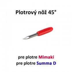 Plotrový nôž pre Mimaki a Summa D 45°