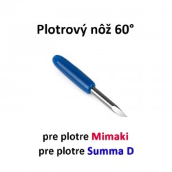Plotrový nôž pre Mimaki a Summa D 60°
